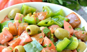 Green Pepper Salad With Tomatoes – Recipes Green Peppers Vegetarian