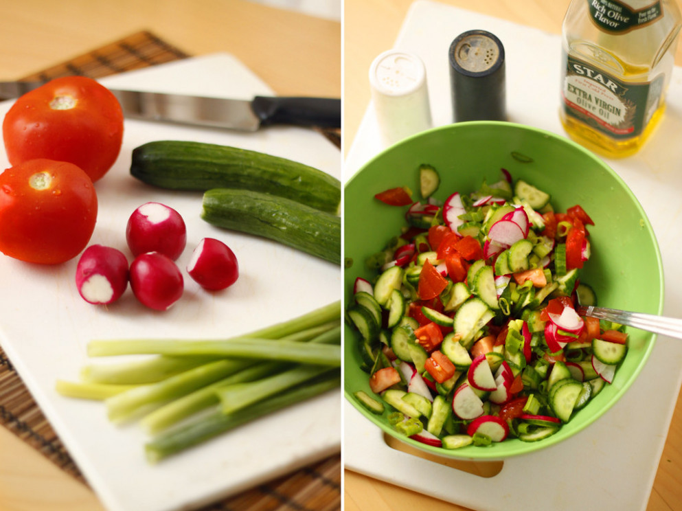 Green Salad - recipes lifestyle food
