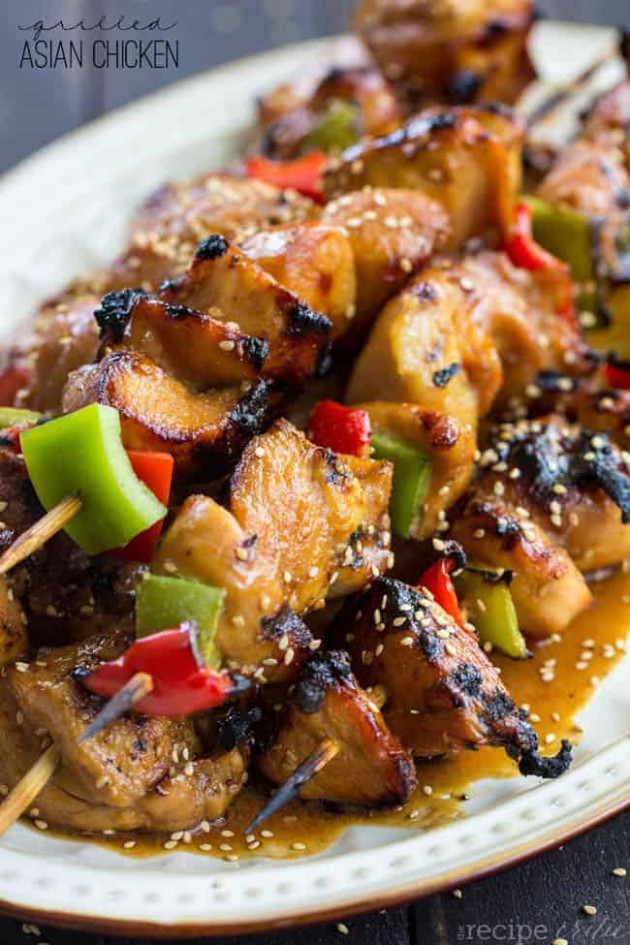 Grilled Asian Chicken | The Recipe Critic - recipes chinese chicken