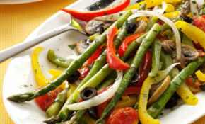 Grilled Asparagus Medley – Recipes Grill Vegetarian