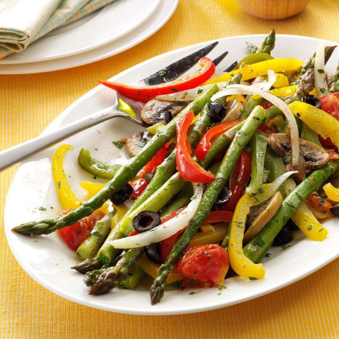 Grilled Asparagus Medley - Recipes Grill Vegetarian