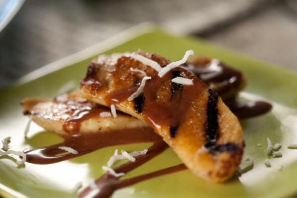 Grilled Bananas with Mexican Chocolate Sauce Recipe ..