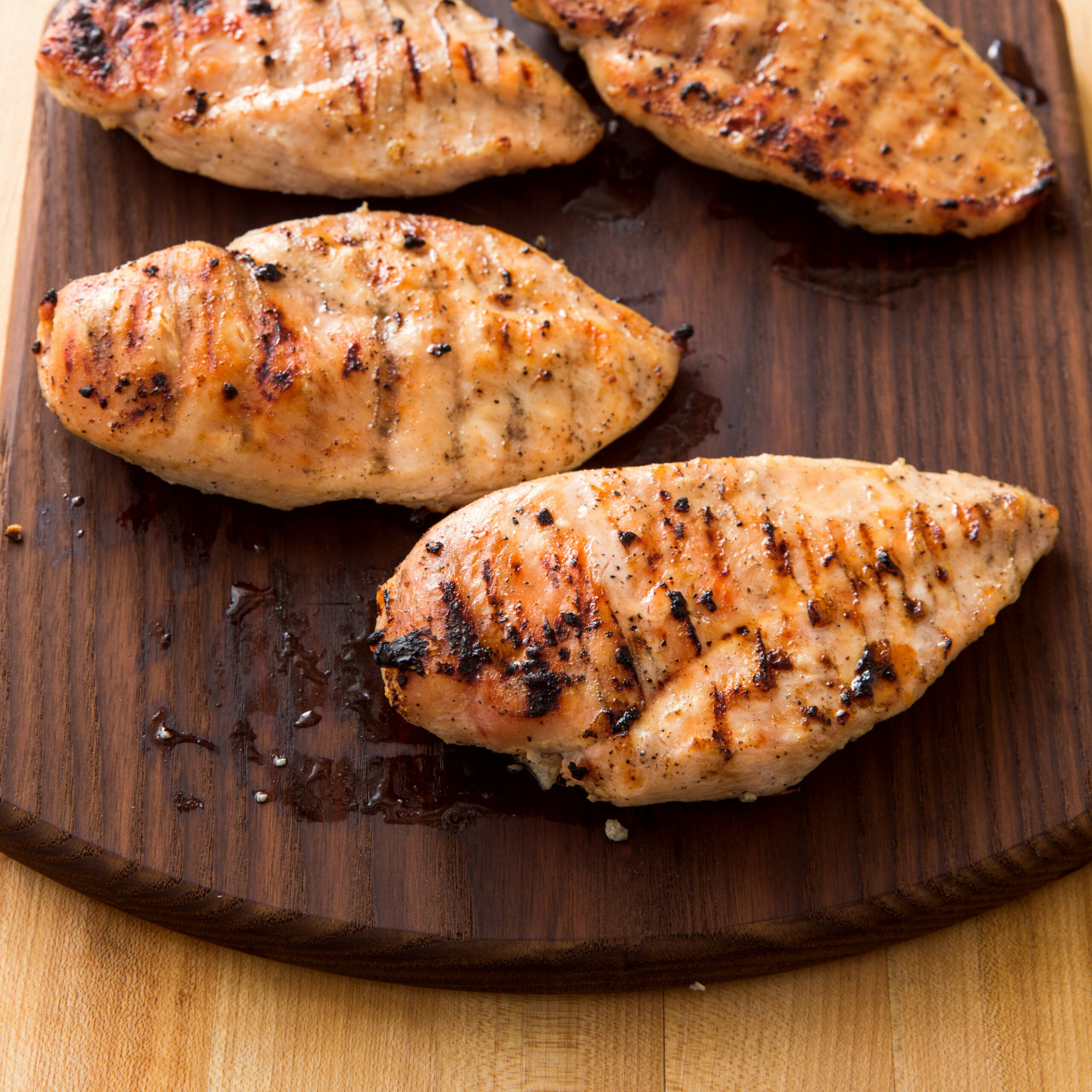 Grilled Boneless, Skinless Chicken Breasts - Recipes Skinless Boneless Chicken Breast