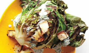 Grilled Butter Lettuce With Creamy Dressing – Dinner Party Recipes