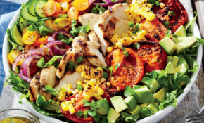 Grilled Chicken And Vegetable Summer Salad Recipe | MyRecipes – Recipes Salads For Dinner