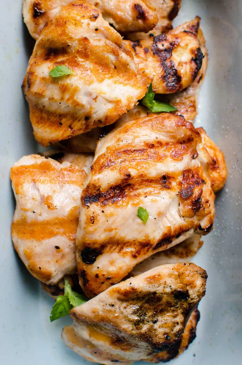Grilled Chicken Breast (Video) - Video How to Grill Chicken ..