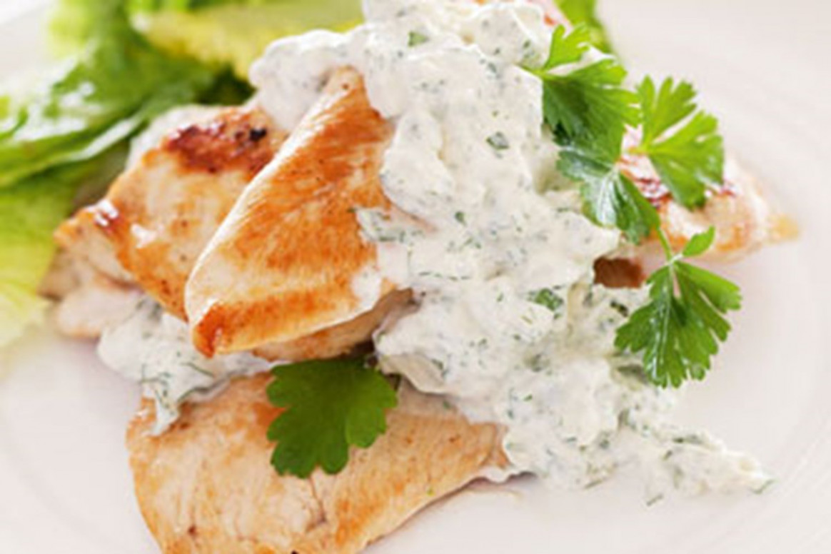 Grilled chicken breast with blue cheese sauce – Recipes – Bite - recipes nz chicken breast