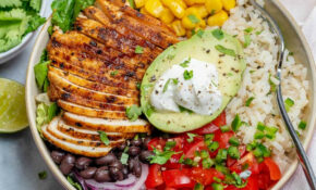 Grilled Chicken Burrito Bowl – Healthy Recipes Hashtags