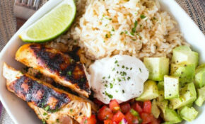Grilled Chicken Burrito Bowls – Chicken Recipes That Are Healthy