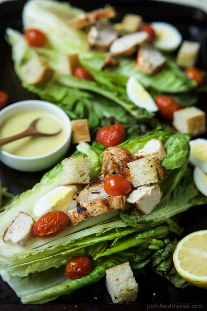 Grilled Chicken Caesar Salad | Easy Healthy Recipes Using ..