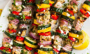 Grilled Chicken Kabobs With Vegetables – Kabob Recipes Chicken