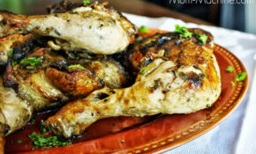 Grilled Chicken Leg Quarters With Lime Dressing – BigOven – Chicken Leg Quarter Recipes