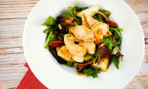 Grilled Chicken, Pear, And Candied Pecan Salad – Waitrose Recipes Chicken