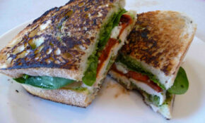 Grilled Chicken & Pesto Panini – Recipes Pesto Chicken