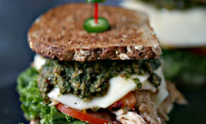 Grilled Chicken Sandwich With Basil Pesto – Recipes With Grilled Chicken