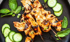 Grilled Chicken Satay With Peanut Sauce – Recipes Satay Chicken