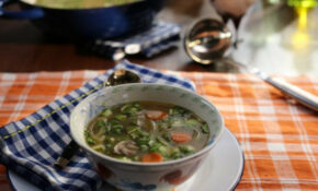 Grilled Chicken Tamarind Soup Recipe | Valerie Bertinelli ..