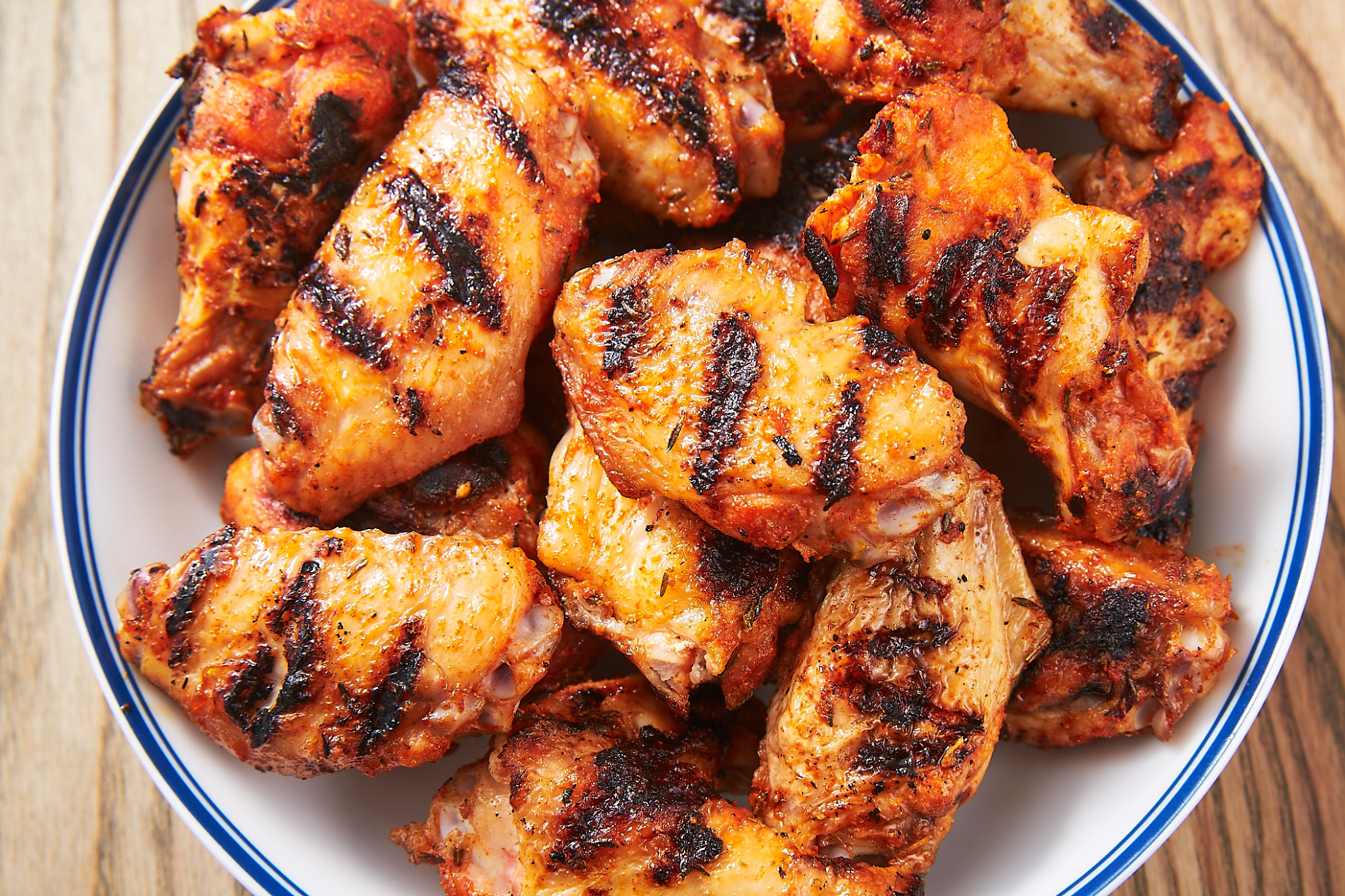 Grilled Chicken Wings - barbecue recipes chicken