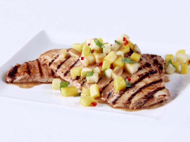 Grilled Chicken with Apple-Mango Chutney Recipe | Giada De ..