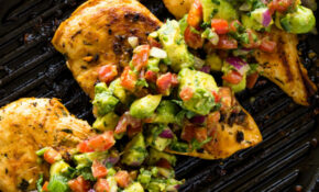 Grilled Chicken With Avocado Salsa (Keto) | Gimme Delicious – Healthy Recipes That Taste Good