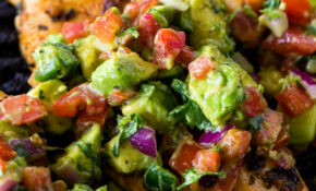 Grilled Chicken With Avocado Salsa – Recipes Keto Vegetarian