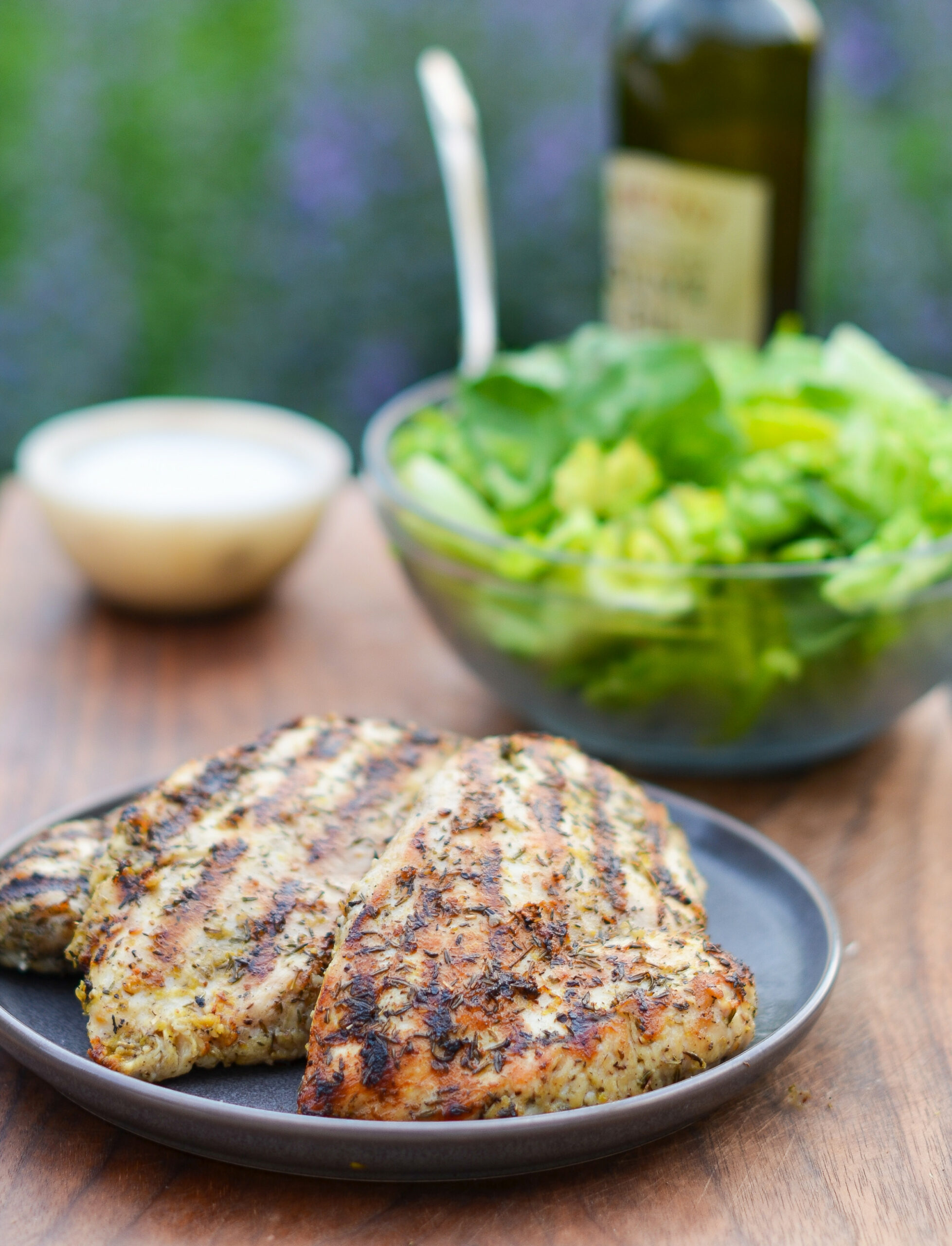 Grilled Chicken with Lemon, Garlic & Herbs - breast recipes chicken quick