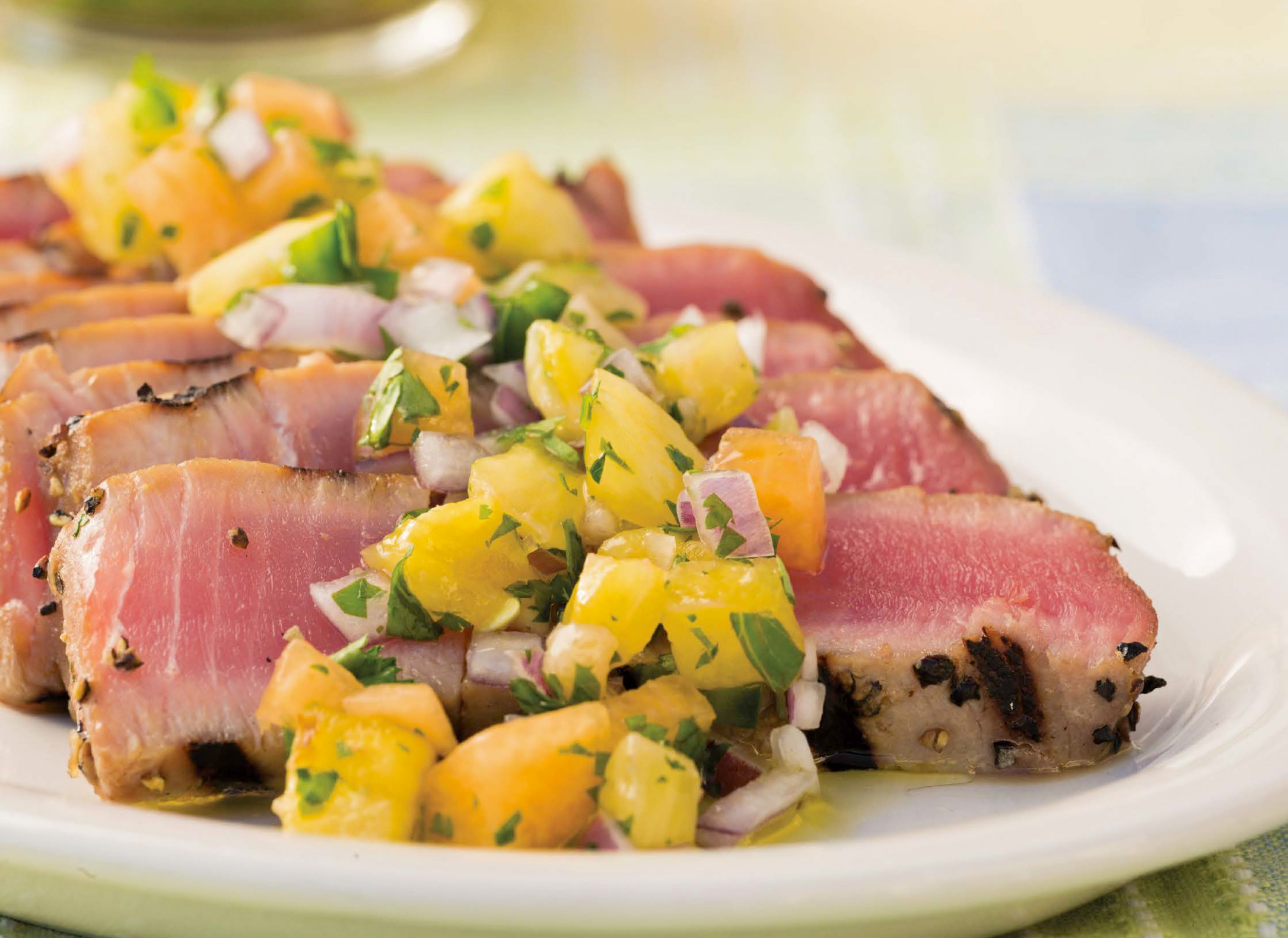 Grilled Fish Go-To: Peppered Ahi Tuna Recipe - fresh tuna recipes dinner