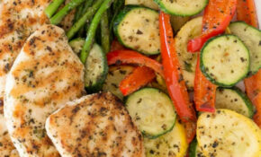 Grilled Garlic And Herb Chicken And Veggies | Skinnytaste – Chicken And Veggie Recipes