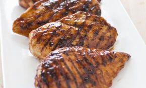 Grilled Glazed Boneless, Skinless Chicken Breasts – Barbecue Recipes Chicken