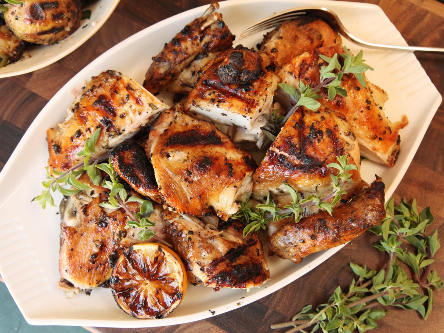 Grilled Greek Chicken Recipe — Dishmaps - greek recipes chicken