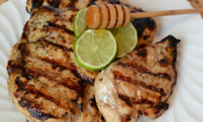 Grilled Honey Lime Chicken Breast – George Foreman Recipes Chicken
