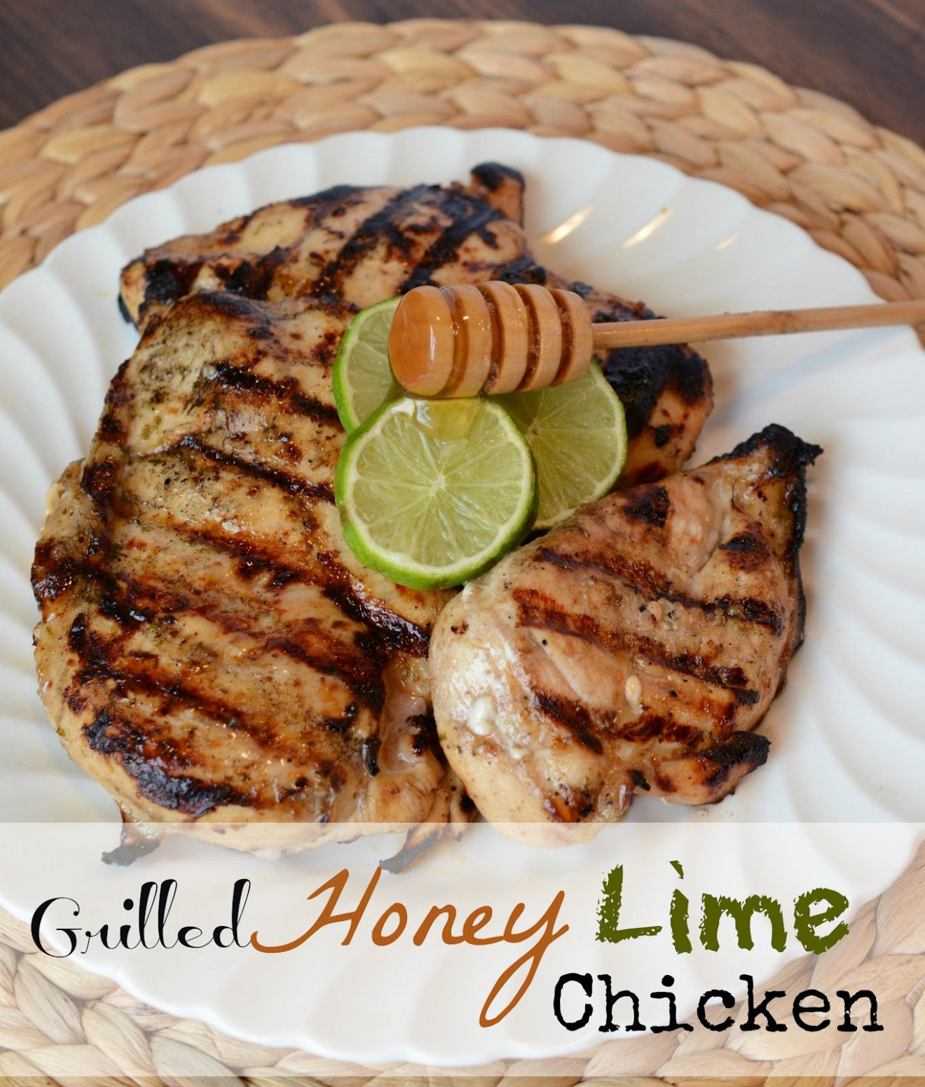 Grilled Honey Lime Chicken Breast - george foreman recipes chicken