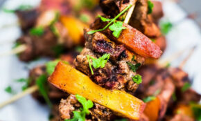 Grilled Jerk Chicken And Peach Skewers – Recipes Jamaican Jerk Chicken