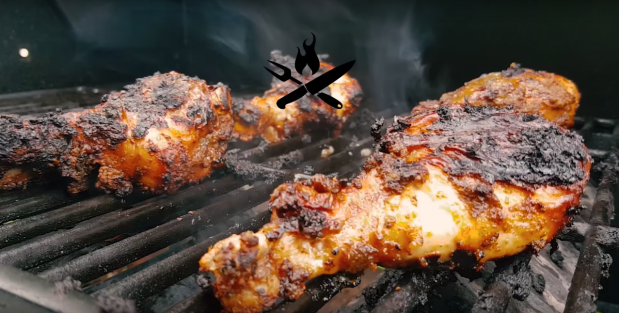 Grilled Jerk Chicken - jamaican recipes chicken