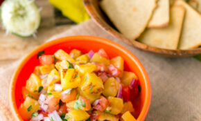 Grilled Pineapple Salsa With Quinoa Corn Tortilla Chips – Healthy Mexican Recipes