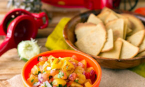 Grilled Pineapple Salsa With Quinoa Corn Tortilla Chips – Recipes Vegetarian Mexican Food