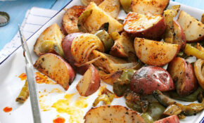 Grilled Potatoes & Peppers – Recipes Of Potato For Dinner