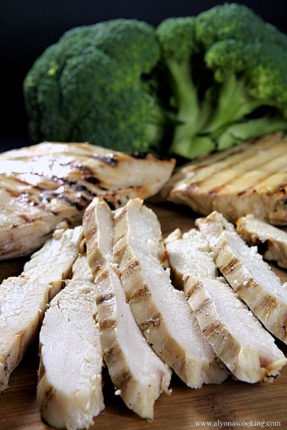 Grilled & Ready Precooked Chicken Breast Recipe (Freezer ..