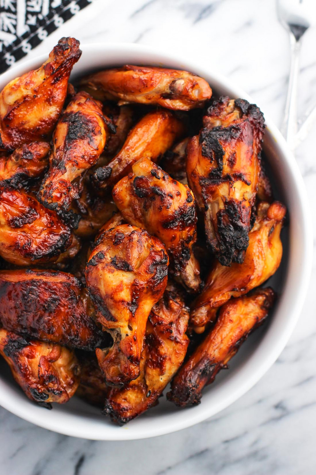 Grilled Spicy Soy Chicken Wings - Recipes Grilled Chicken Wings