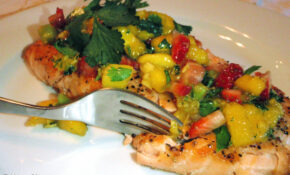 Grilled Steelhead Trout W/Mango Salsa | What's For Dinner? – Mango Recipes Dinner
