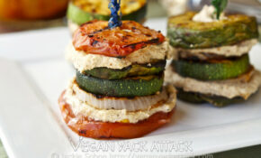 Grilled Summer Stacks – Recipes Sandwiches Vegetarian