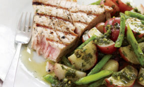 Grilled Tuna Steaks With Potato And Green Bean Salad – Fresh Tuna Recipes Dinner