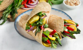 Grilled Vegetable Wrap – Recipes Vegetarian Wraps