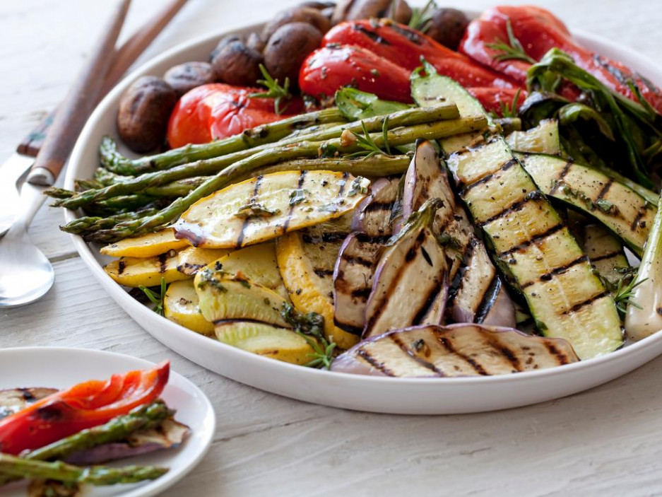 Grilled Vegetarian Dishes : Food Network | Grilling and ..