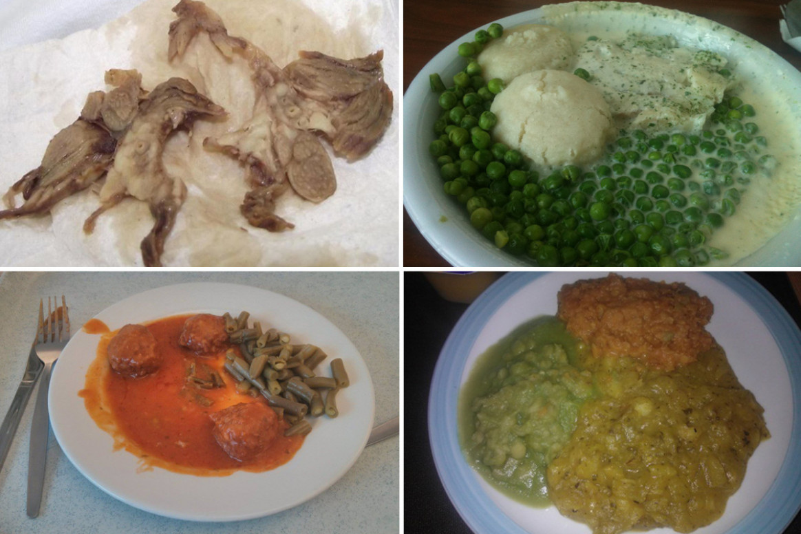 Grim Photos Show Depressing Reality Of 'home Cooked' NHS ..