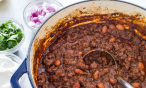 Ground Beef Chili Offers More Convenience Than Chili Made ..