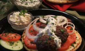 Ground Beef Gyros – Healthy Recipes Ground Beef