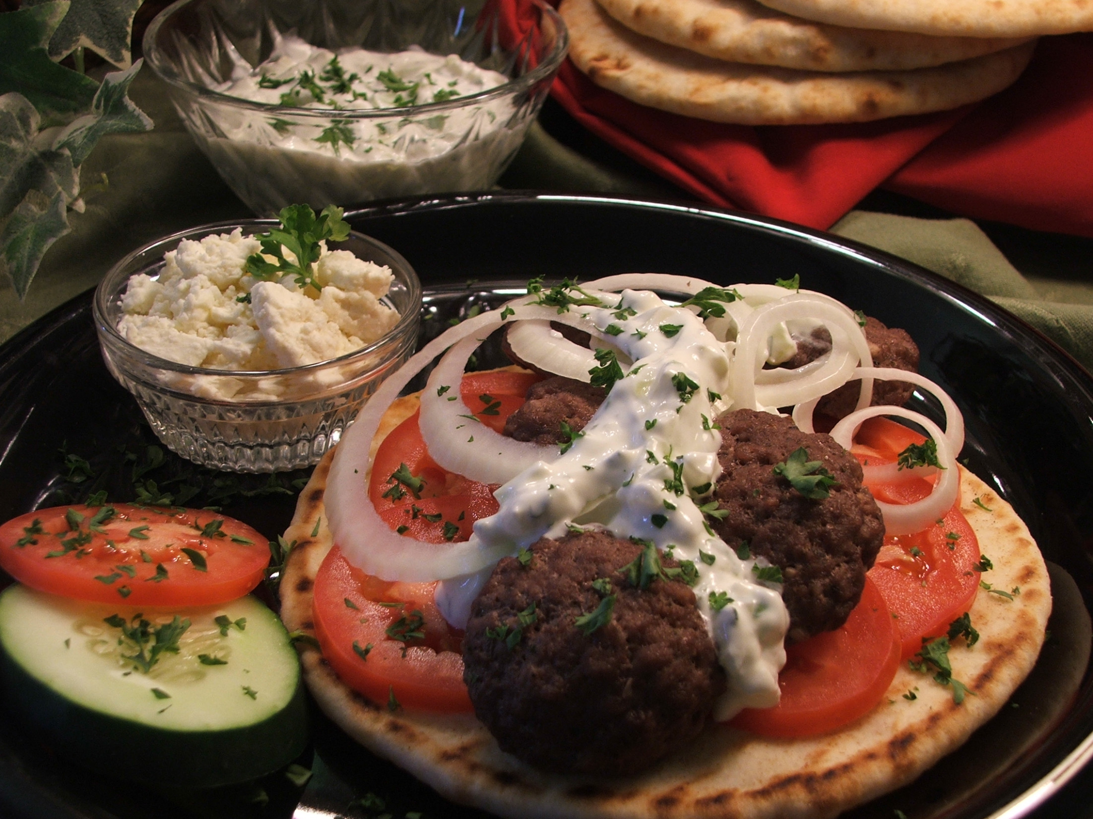 Ground Beef Gyros - healthy recipes ground beef