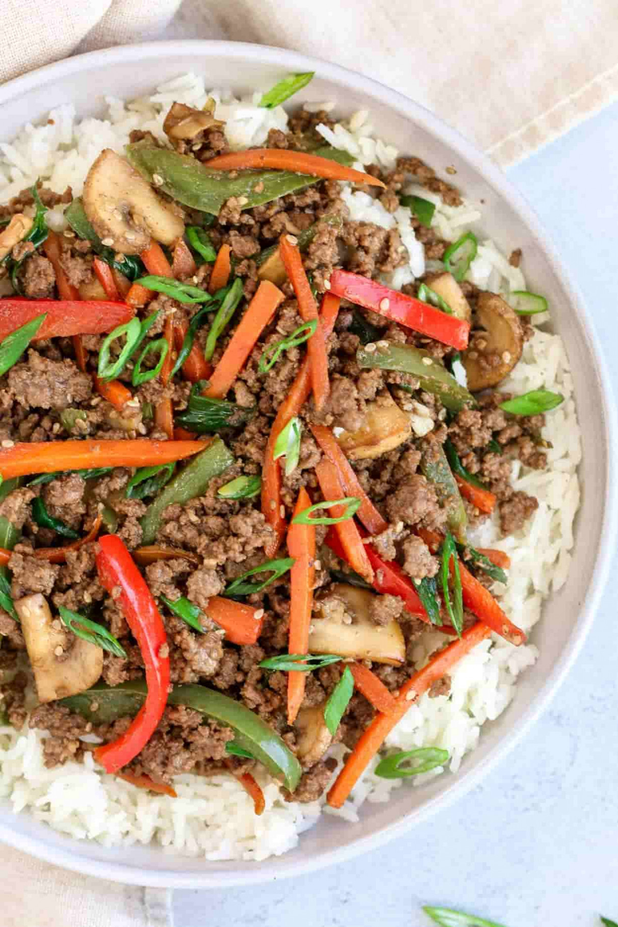 Ground Beef Stir Fry Recipe - recipes with ground beef for dinner