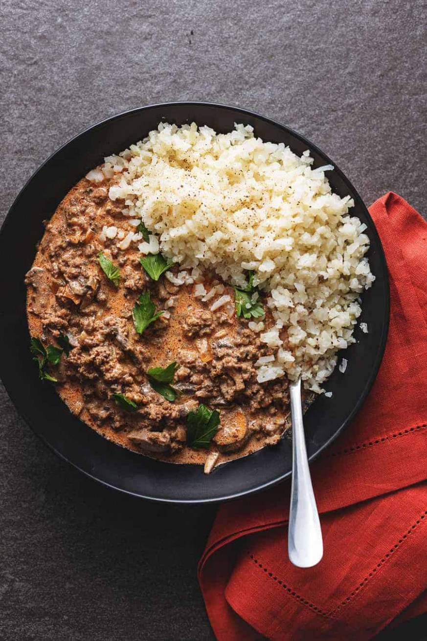 Ground Beef Stroganoff • Low Carb With Jennifer - Recipes With Ground Beef Healthy